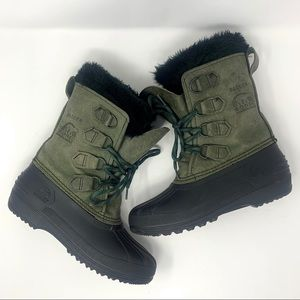 Sorel Badger Women's Winter Boots Size 6